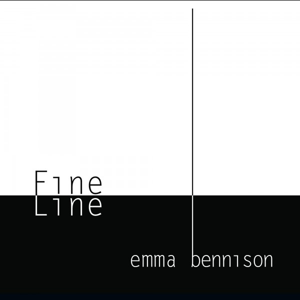 "The cover of Emma Bennison's album, ""Fine line"""