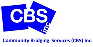 The logo for Community Bridging Services (CBS) Inc.