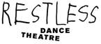 Restless Dance Theatre logo black on white